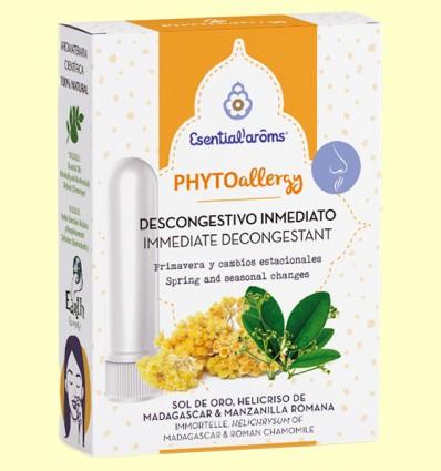 Inhalador descongestivo Phyto Allergy - Esential Aroms - 5 ml