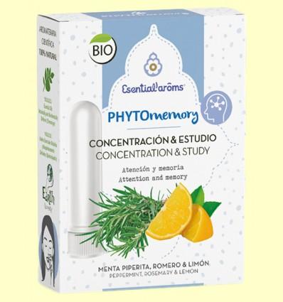 Inhalador descongestivo Phyto Memory - Esential Aroms - 5 ml