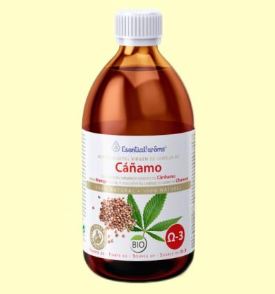 Aceite Vegetal de Cáñamo Bio - Esential Aroms - 250 ml