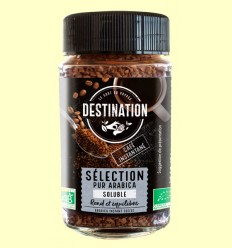 Café Soluble Liofilizado 100% Arábica Bio - Destination - 200 gramos