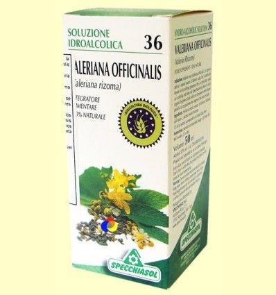 Valeriana Solución Hidroalcohólica - Specchiasol - 50 ml