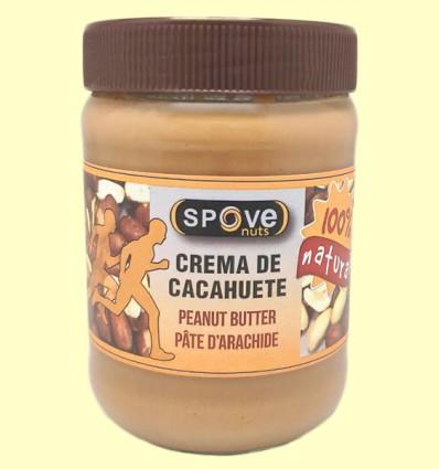 Crema de cacahuetes - Spove Nuts - 500 gramos
