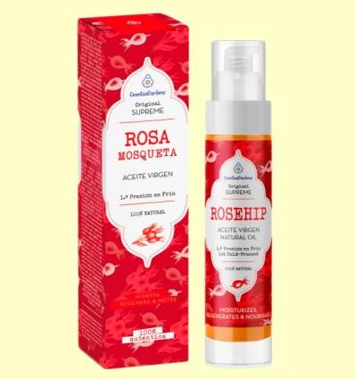 Aceite Vegetal Virgen de Rosa Mosqueta de Chile - Esential'arôms - 125 ml