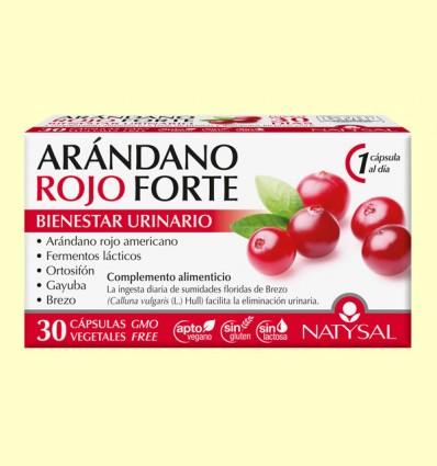 Arándano Rojo Forte - Natysal - 30 comprimidos