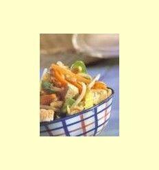 Recetas - Verduras de verano asadas y tofu