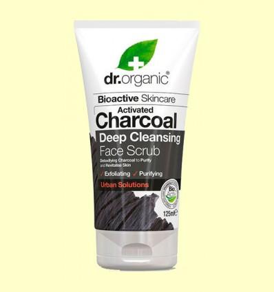 Exfoliante Facial de Carbón - Dr.Organic - 125 ml