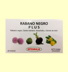 Rábano Negro Plus - Integralia - 20 viales