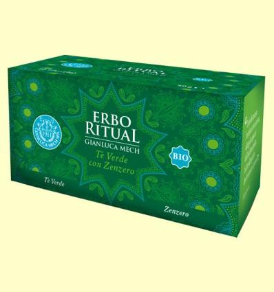 Erbo Ritual Té Verde con Jengibre Bio - Gianluca Mech - 20 sobres