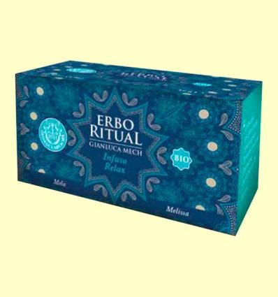 Erbo Ritual Infusión Relax Bio - Gianluca Mech - 20 sobres