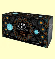 Erbo Ritual Infusión Energy Bio - Gianluca Mech - 20 sobres