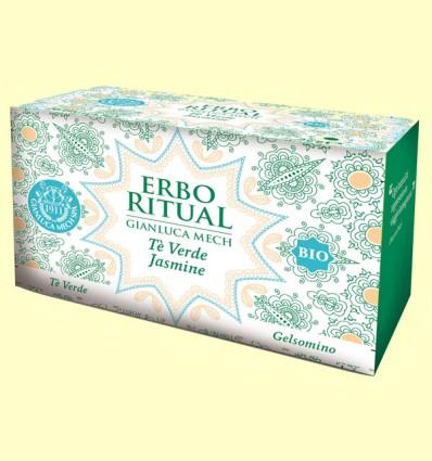 Erbo Ritual Té Verde Jazmín Bio - Gianluca Mech - 20 sobres
