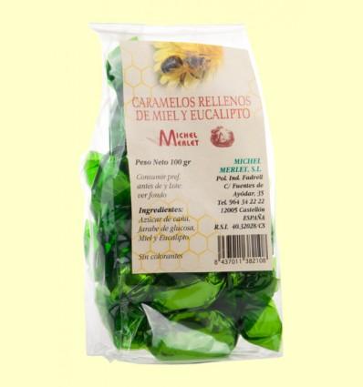 Caramelos Rellenos de Miel y Eucalipto - Michel Merlet - 100 gramos