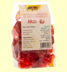 Caramelos Rellenos de Miel y Propóleo - Michel Merlet - 100 gramos