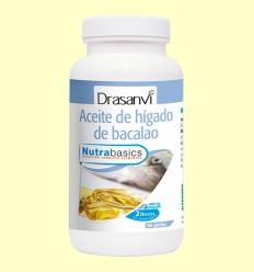 Hígado de bacalao Nutrabasics - Drasanvi - 90 perlas