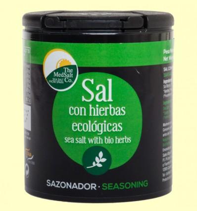Sal con Hierbas Ecológicas - The Medsalt Co - 200 g