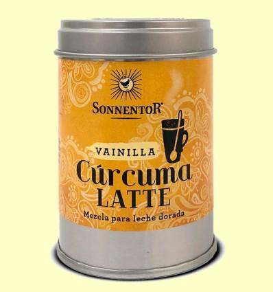Cúrcuma Latte Vainilla Leche Dorada Bio Lata - Sonnentor - 60 gramos