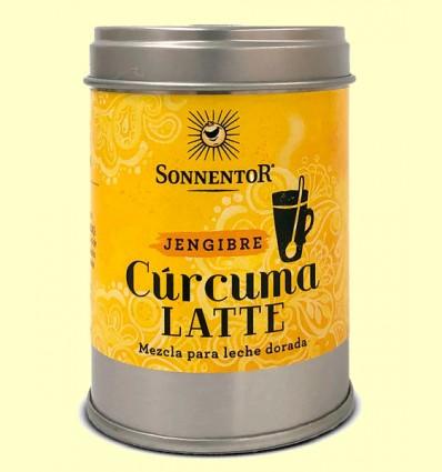 Cúrcuma Latte Jengibre Leche Dorada Bio Lata - Sonnentor - 60 g