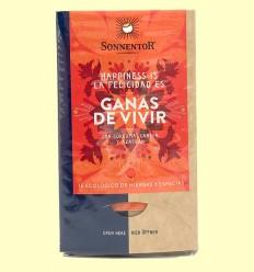 Té Ganas de Vivir con cúrcuma, canela y azafrán - Sonnentor - 30,6 g