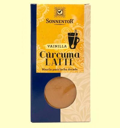 Cúrcuma Latte Vainilla Leche Dorada caja - Sonnentor - 60 g