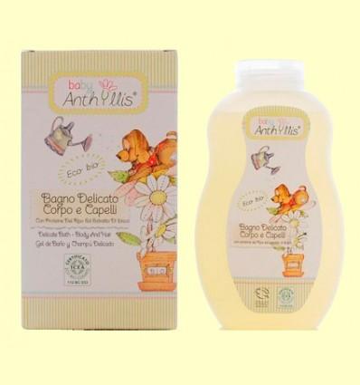 Gel de baño y Champú Delicado Baby eco - Baby Anthyllis - 400 ml
