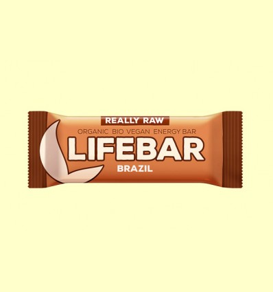 Lifebar Nueces de brasil Bio - Lifefood - 47 g