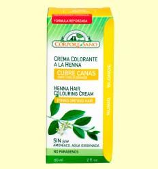 Cubre Canas Henna Rubio - Corpore Sano - 60 ml