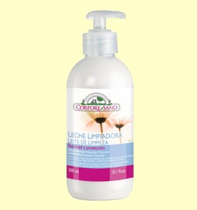 Leche Limpiadora de Caléndula y Camomila - Corpore Sano - 300 ml