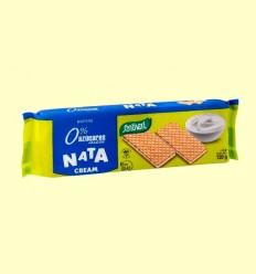 Wafers Nata sin azúcar - Santiveri - 120 g