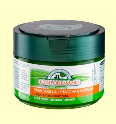 Mascarilla Capilar Bio de Aloe Vera y Enebro - Corpore Sano - 250 ml