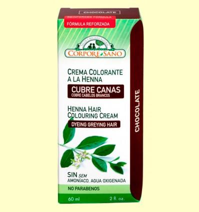 Cubre Canas Henna Chocolate - Corpore Sano - 60 ml