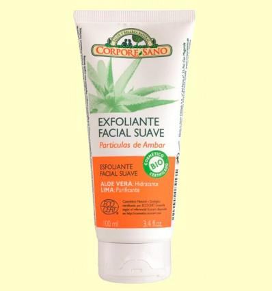 Exfoliante Facial Suave Partículas de Ambar - Corpore Sano - 100 ml
