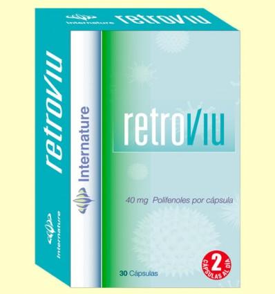 Retroviu - Internature - 30 cápsulas