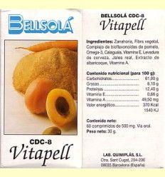 Vitapell - Bellsolá - 60 comprimidos ******