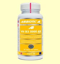 Vitamina D3 5000 AB - Airbiotic - 90 tabletas