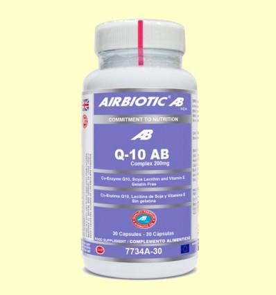 Q-10 AB Complex 200 mg - Airbiotic - 30 cápsulas