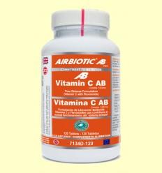 Vitamina C AB Complex 1000 mg - Liberación Prolongada - Airbiotic - 120 tabletas