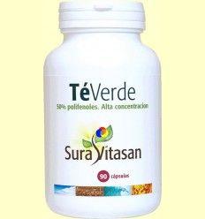 Té verde 250 mg - Sura Vitasan - 90 cápsulas *