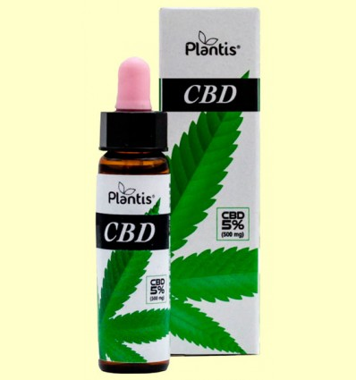 CBD 5% - Aceite de Semilla de Cáñamo - Plantis - 10 ml