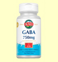 Small Gaba 750 mg - Laboratorios KAL - 30 cápsulas