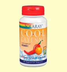 Cool Cayenne 600 mg - Solaray - 60 cápsulas