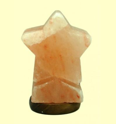 Lámpara de Sal Estrella - Esencia del Himalaya - 1 ud.