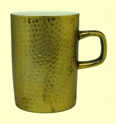 Taza porcelana Color Dorado - Cha Cult - 350 ml