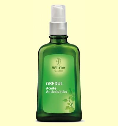 Aceite anticelulítico de Abedul - Weleda - 100 ml