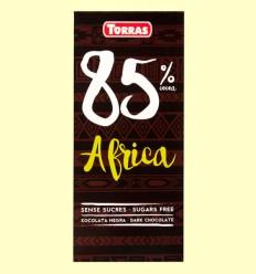 Chocolate Negro 85% Cacao África - Torras - 100 gramos