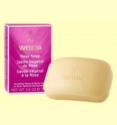 Jabón vegetal de Rosa - Weleda - 100 gramos