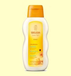 Calendula Baño de Crema Baby - Limpia y cuida suavemente - Weleda - 200 ml