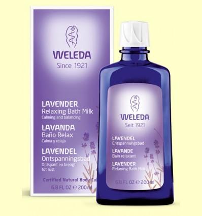 Baño esencias de lavanda- Weleda - 200 ml