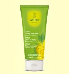 Crema de ducha de Citrus - Weleda - 200 ml