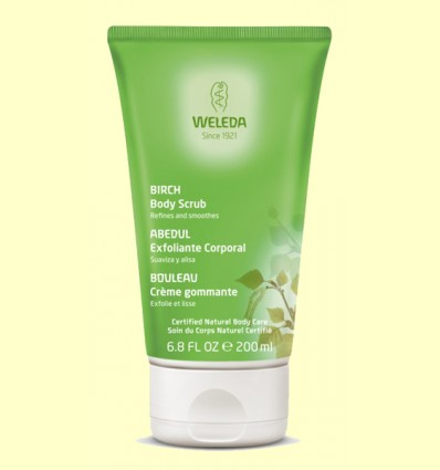 Exfoliante corporal de Abedul - Weleda - 150 ml