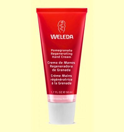 Crema de manos regeneradora de Granada - Weleda - 50 ml